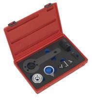 Sealey VSE6168 Crankshaft Pulley Bolt Installation Kit - BMW