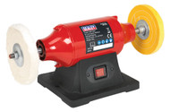 Sealey BB1502 Bench Mounting Buffer/Polisher 150mm 370W/230V