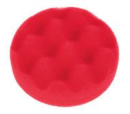 Sealey PTCCHW80R Buffing & Polishing Foam Head Hook & Loop åø80 x 25mm Red/Ultra Soft