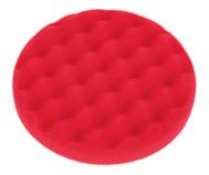 Sealey PTCCHW150R Buffing & Polishing Foam Head Hook & Loop åø150 x 25mm Red/Ultra Soft
