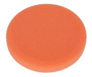 Sealey PTCCHV150O Buffing & Polishing Foam Head Hook & Loop åø150 x 25mm Orange/Firm