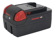 Sealey CP3005BP4 Cordless Power Tool Battery 18V 4Ah Li-ion for CP3005