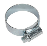 Sealey HCJ1 HI-GRIPå¬ Hose Clip Zinc Plated åø25-35mm Pack of 20