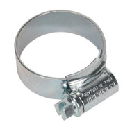 Sealey HCJ1A HI-GRIPå¬ Hose Clip Zinc Plated åø22-30mm Pack of 20