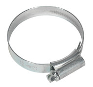 Sealey HCJ2X HI-GRIPå¬ Hose Clip Zinc Plated åø45-60mm Pack of 20