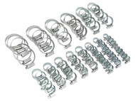 Sealey HCJ85A HI-GRIPå¬ Hose Clip Assortment 85pc Sizes åø9.5-55mm