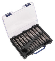 Sealey DBS170FG HSS Fully Ground Drill Bit Assortment 170pc 1-10mm