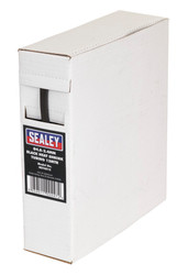 Sealey HST4812 Heat Shrink Tubing Black åø4.8-2.4mm 12mtr