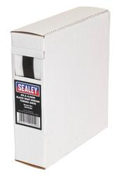 Sealey HST9508 Heat Shrink Tubing Black åø9.5-4.8mm 8mtr