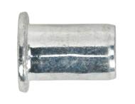 Sealey TIRM6 Threaded Insert (Rivet Nut) M6 Regular Pack of 50