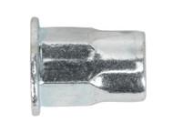 Sealey TIHHM6 Threaded Insert (Rivet Nut) M6 Half Hex Pack of 50