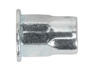 Sealey TIHHM8 Threaded Insert (Rivet Nut) M8 Half Hex Pack of 50