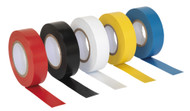 Sealey ITMIX10 PVC Insulating Tape 19mm x 20mtr Mixed Colours Pack of 10