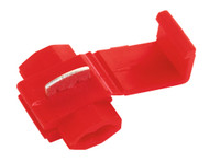 Sealey QSPR Quick Splice Connector Red Pack of 100