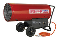 Sealey LP401 Space Warmerå¬ Propane Heater 210,000-400,000Btu/hr