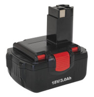 Sealey CP315BP Cordless Power Tool Battery 18V 3Ah Li-ion for CP315