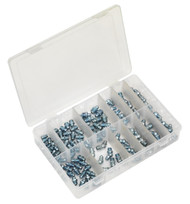 Sealey AB008GN Grease Nipple Assortment 115pc - Metric