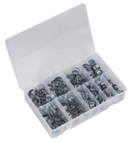 Sealey AB042MH Mini Hose Clip Assortment 100pc