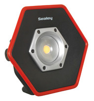 Sealey LED057 Rechargeable Floodlight 20W COB LED Lithium-ion Colour Matching CRI 95