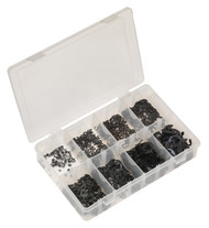 Sealey AB012ER E-Clip Retainer Assortment 800pc Metric