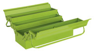 Sealey AP521HV Cantilever Toolbox 4 Tray 530mm Hi-Vis Green