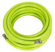 "Sealey AHFC15 Air Hose High Visibility 15mtr x åø8mm with 1/4""BSP Unions"