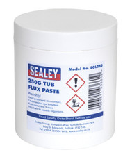 Sealey SOL250 Flux Paste 250g Tub