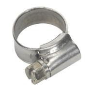 Sealey SHCSS000 Hose Clip Stainless Steel åø10-16mm Pack of 10