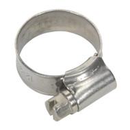 Sealey SHCSS00 Hose Clip Stainless Steel åø12-22mm Pack of 10
