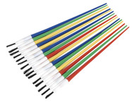 Sealey PB1 Touch-Up Paint Brush Assortment 24pc Plastic Handle