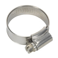 Sealey SHCSS0X Hose Clip Stainless Steel åø22-32mm Pack of 10