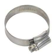 Sealey SHCSS1 Hose Clip Stainless Steel åø32-44mm Pack of 10