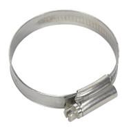 Sealey SHCSSM Hose Clip Stainless Steel åø38-57mm Pack of 10