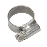 Sealey SHCSSM00 Hose Clip Stainless Steel åø13-19mm Pack of 10