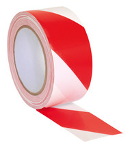 Sealey HWTRW Hazard Warning Tape 50mm x 33mtr Red/White