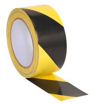 Sealey HWTBY Hazard Warning Tape 50mm x 33mtr Black/Yellow
