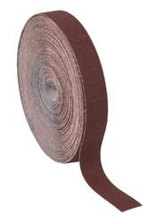 Sealey ERB2550120 Emery Roll Brown 25mm x 50mtr 120Grit