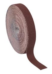 Sealey ERB255080 Emery Roll Brown 25mm x 50mtr 80Grit