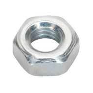 Sealey SN4 Steel Nut M4 Zinc DIN 934 Pack of 100
