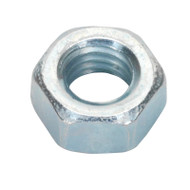 Sealey SN5 Steel Nut M5 Zinc DIN 934 Pack of 100