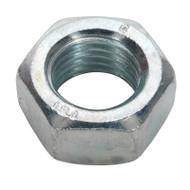Sealey SN20 Steel Nut M20 Zinc DIN 934 Pack of 10