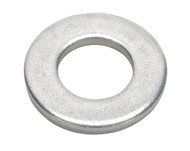 """Sealey FWI103 Flat Washer 1/2"""" x 1"""" Table 3 Imperial Zinc BS 3410 Pack of 50"""