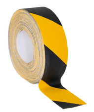 Sealey ANTBY18 Anti-Slip Tape Self-Adhesive Black Yellow 50mm x 18mtr