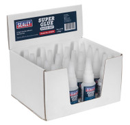 Sealey SCS304 Super Glue Rapid Set 20g Pack of 20