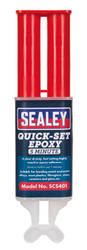 Sealey SCS401 Quick-Set 5 Min Epoxy Adhesive 25ml