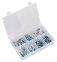 Sealey AB053BH Socket Screw Assortment 108pc M5-M10 Button Head High Tensile 10.9 Metric DIN 912