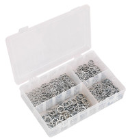 Sealey AB057LW Lock Washer Assortment 1000pc Serrated Internal M5-M10 Metric DIN 6798J