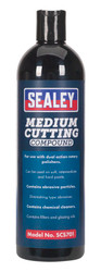 Sealey SCS701 Cutting Compound Medium 500ml
