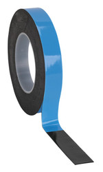 Sealey DSTB195 Double-Sided Adhesive Foam Tape 19mm x 5mtr Blue Backing