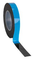 Sealey DSTB2510 Double-Sided Adhesive Foam Tape 25mm x 10mtr Blue Backing